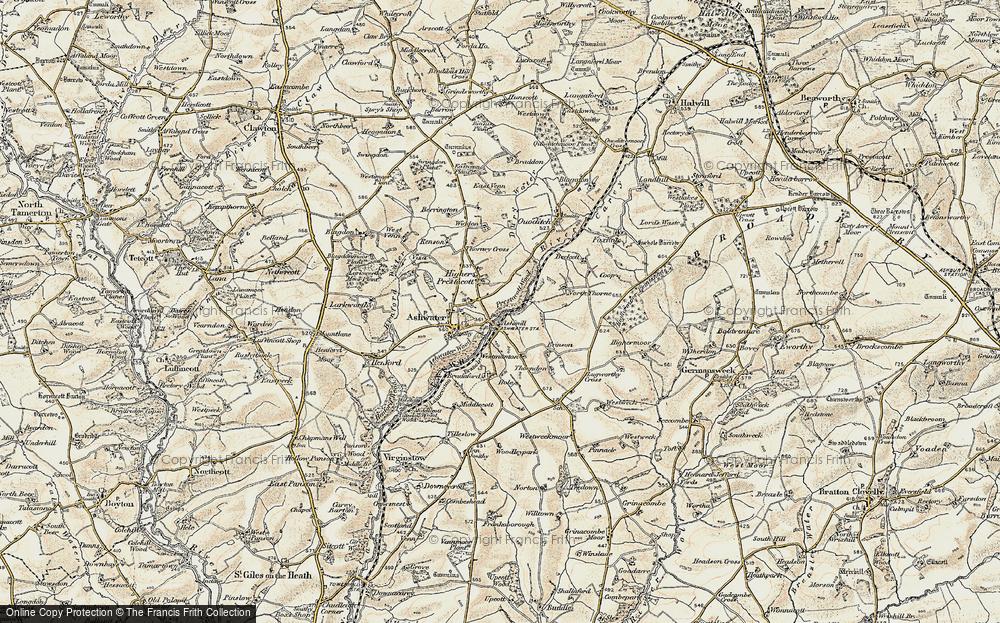 Ashmill, 1900