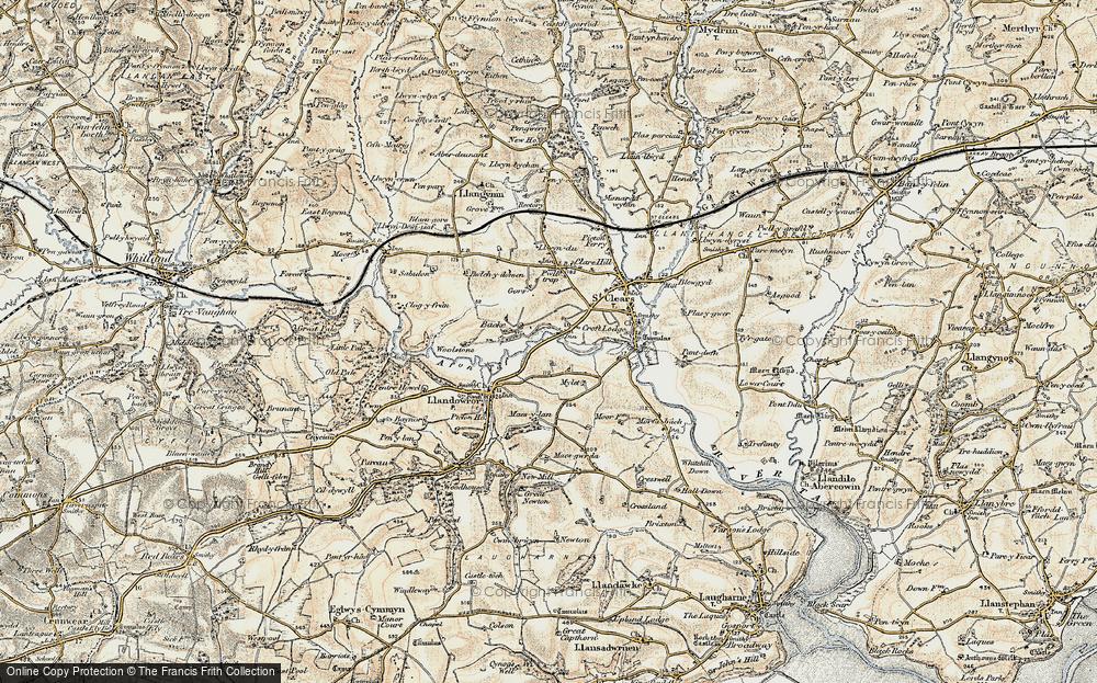 Backe, 1901