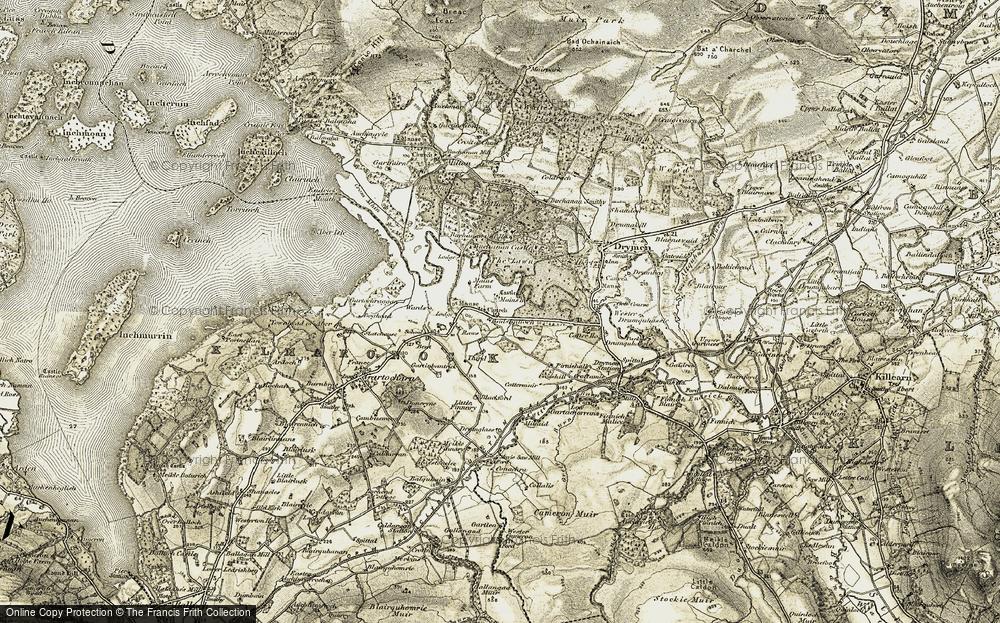 Badshalloch, 1905-1907