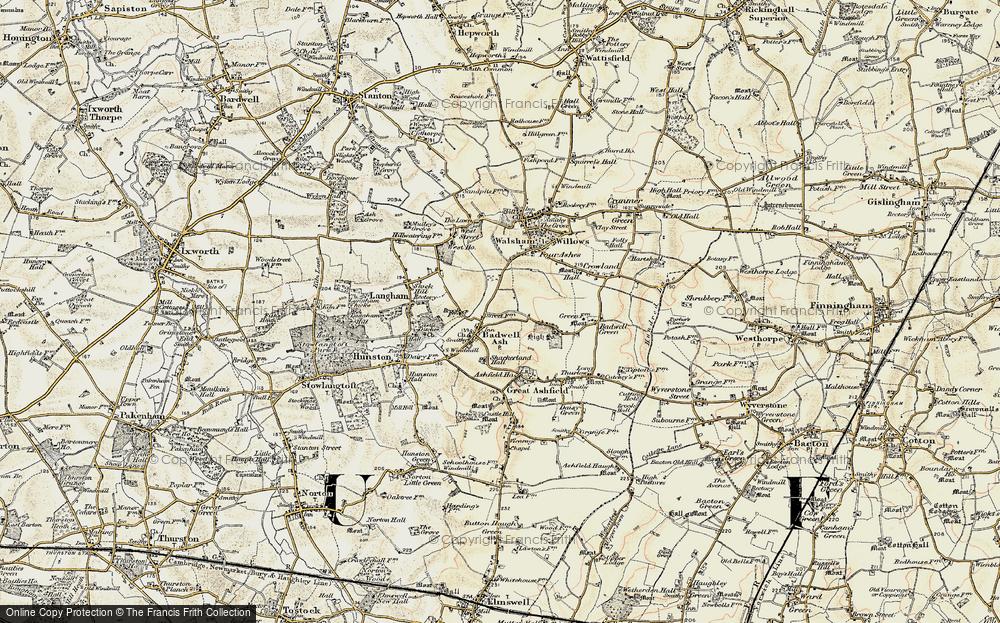 Badwell Ash, 1901