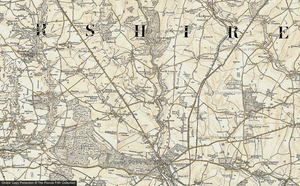 Bagendon, 1898-1899