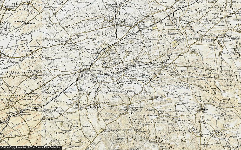 Baggrow, 1901-1904