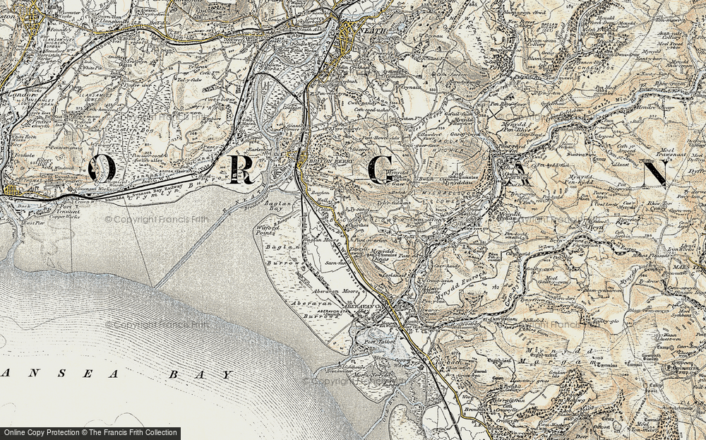 Baglan, 1900-1901