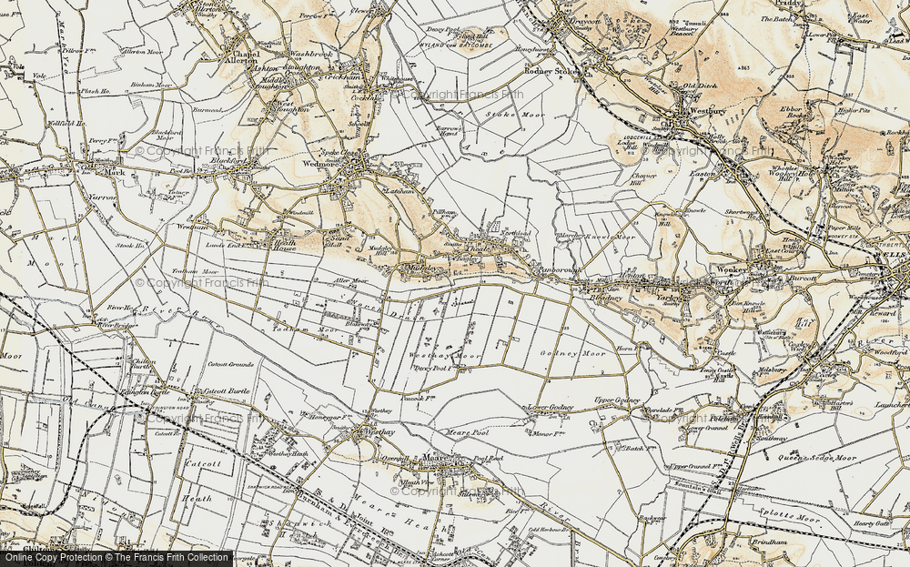 Old Map of Bagley, 1898-1900 in 1898-1900