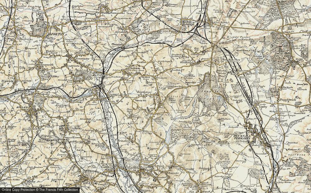 Old Map of Bagthorpe, 1902 in 1902