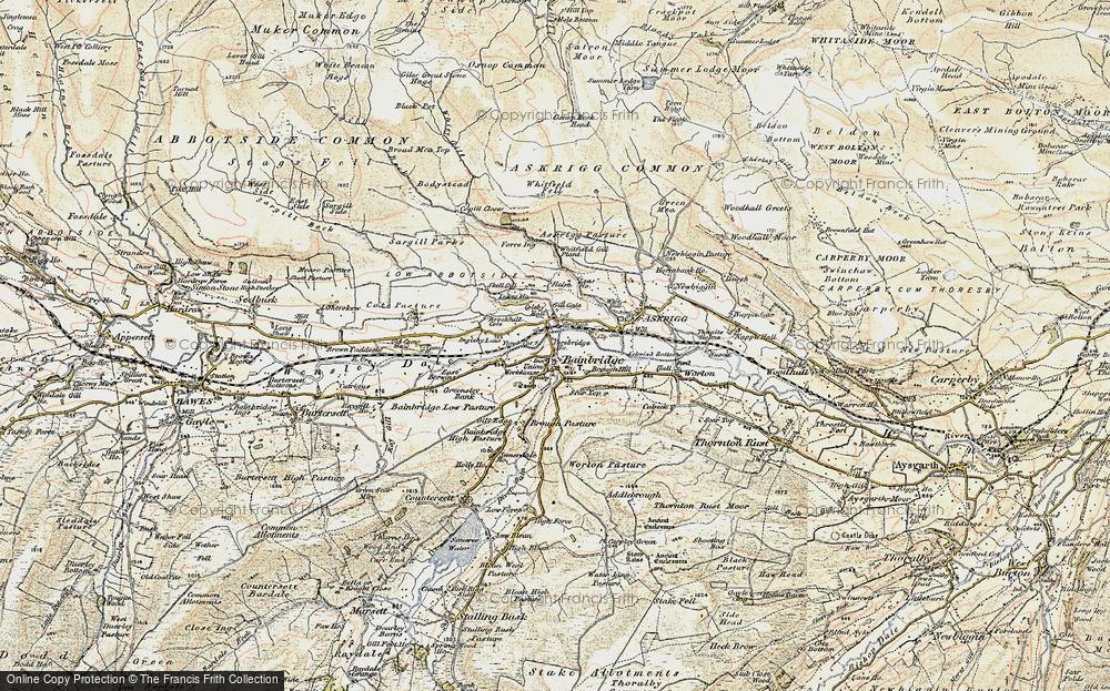Old Map of Bainbridge, 1903-1904 in 1903-1904