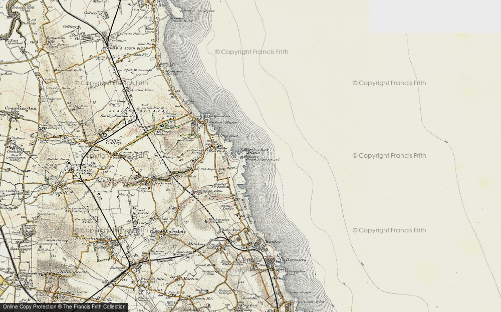 Old Map of Bait Island, 1901-1903 in 1901-1903
