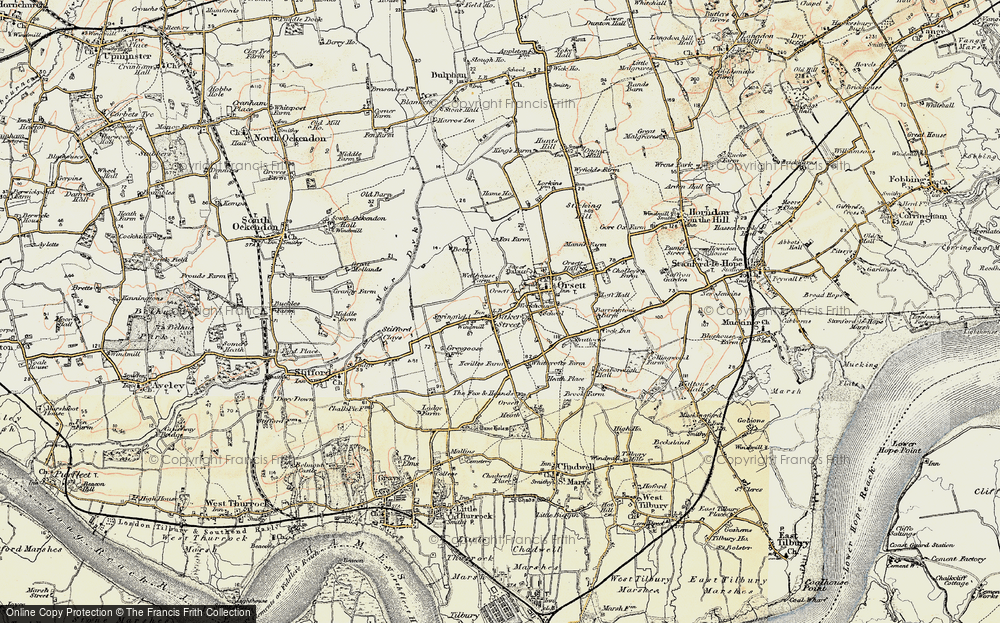 Old Map of Baker Street, 1897-1898 in 1897-1898