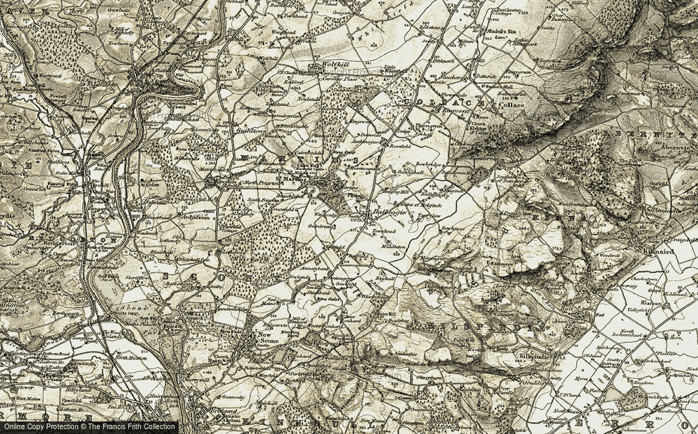 Balbeggie, 1907-1908