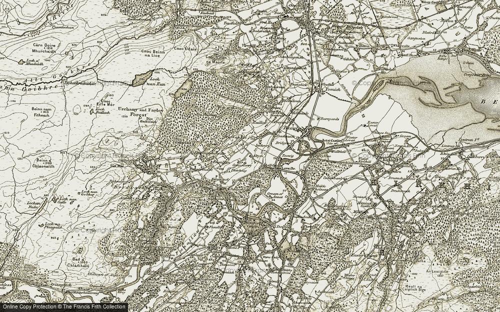 Balblair, 1908-1912