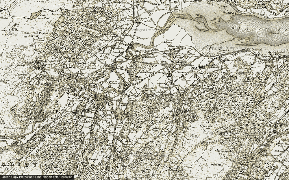 Balchraggan, 1908-1912