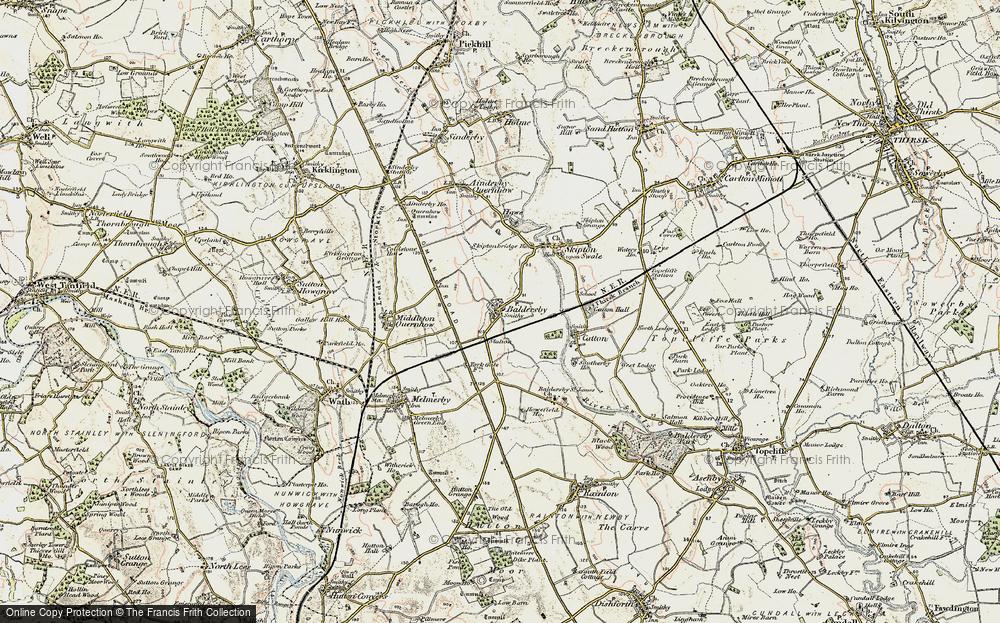 Baldersby, 1903-1904
