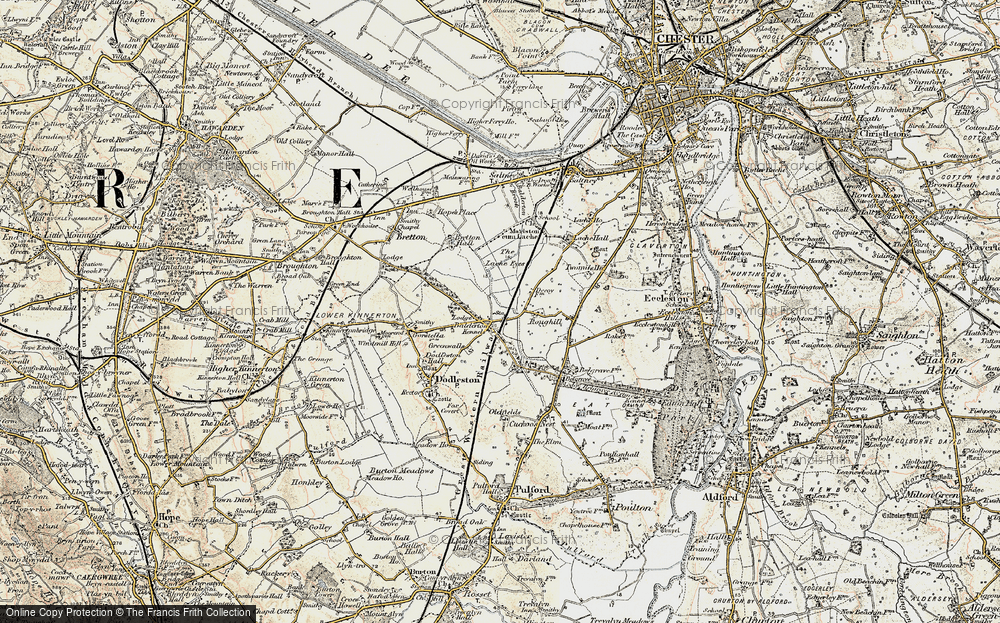 Old Map of Balderton, 1902-1903 in 1902-1903