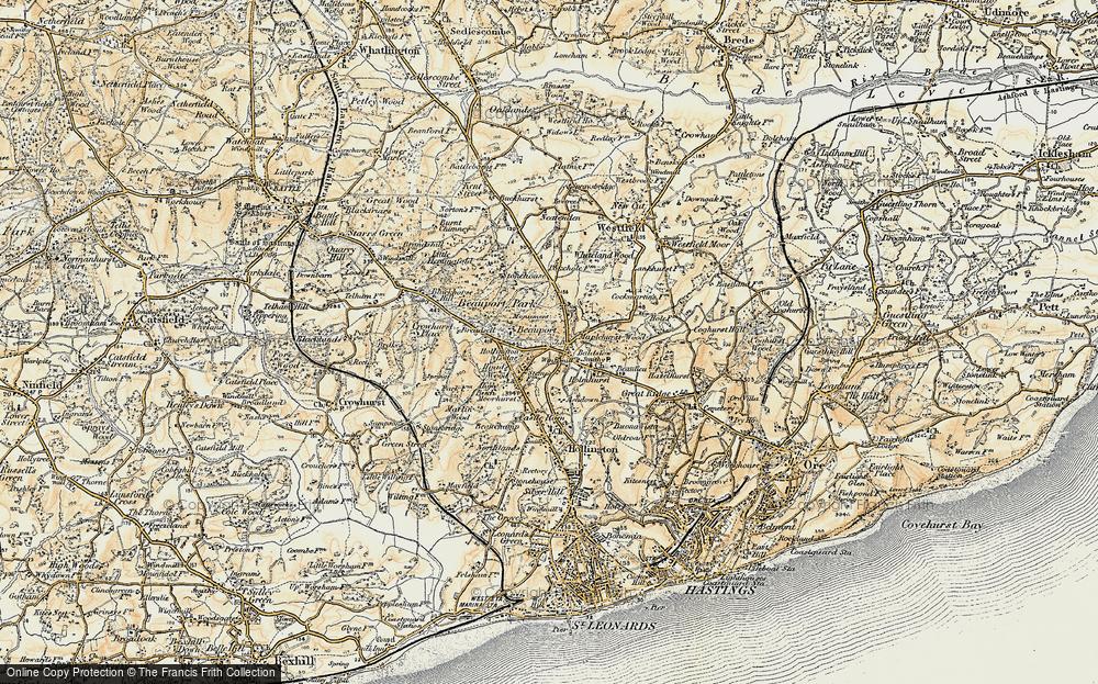 Baldslow, 1898