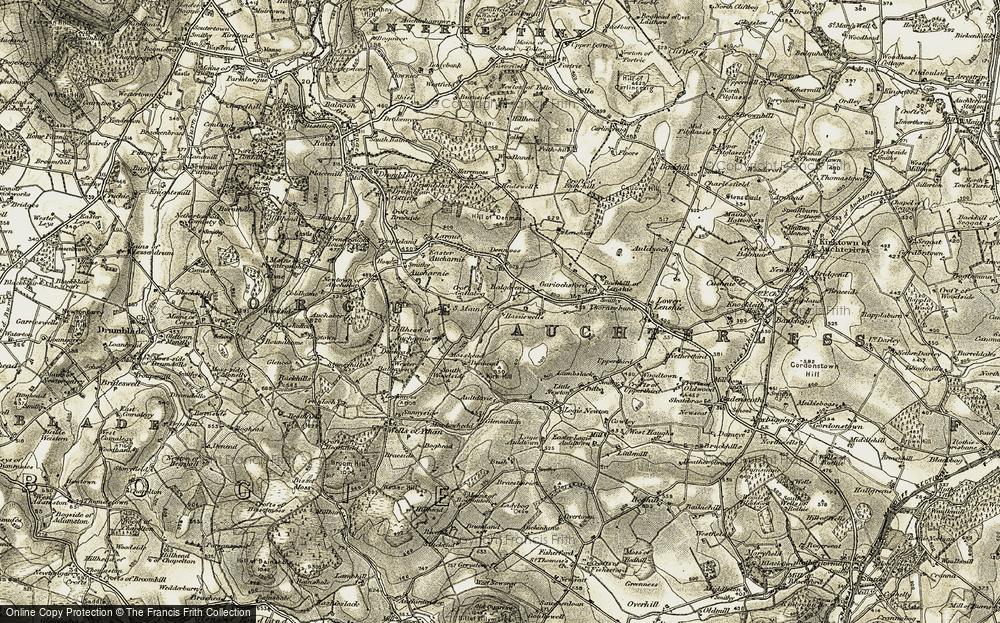Balgaveny, 1908-1910