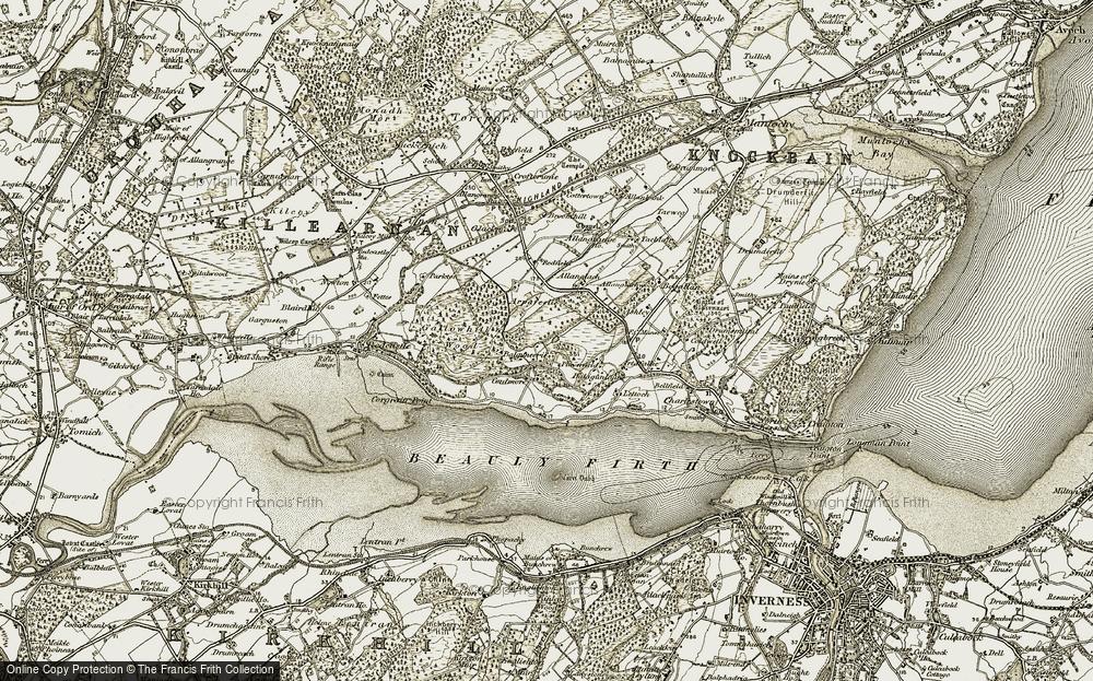 Balgunearie, 1911-1912