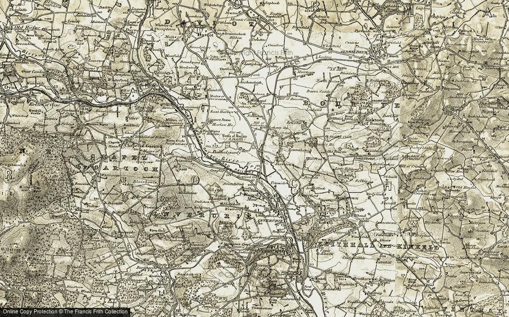 Balhalgardy, 1909-1910