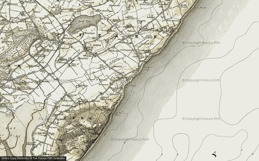 Balintore, 1911-1912