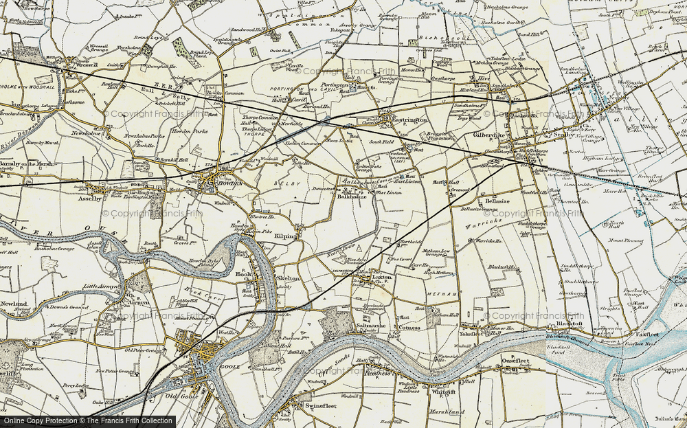 Old Map of Balkholme, 1903 in 1903