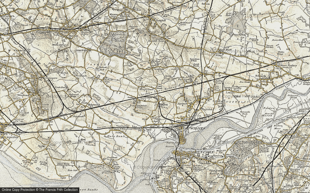 Old Map of Ball o' Ditton, 1903 in 1903