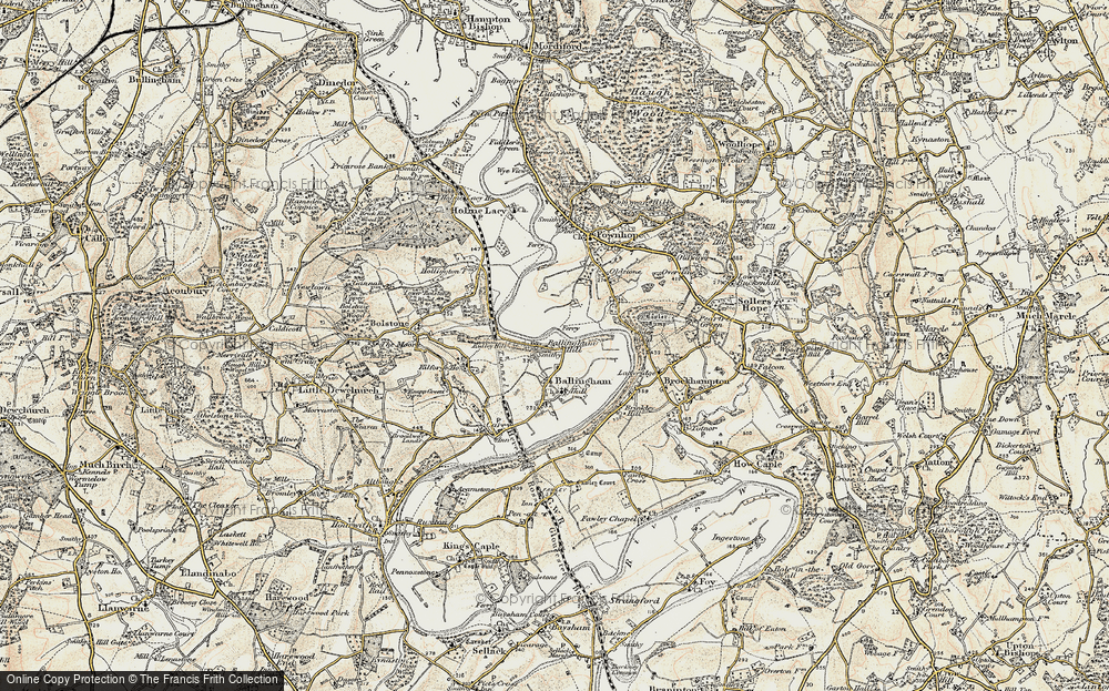 Ballingham Hill, 1899-1900