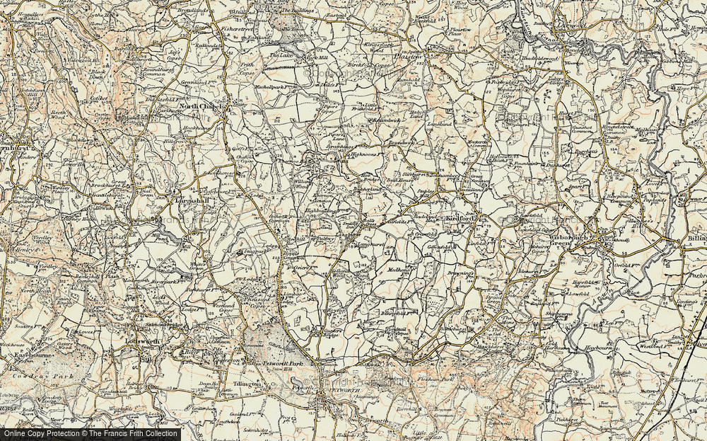 Old Map of Balls Cross, 1897-1900 in 1897-1900