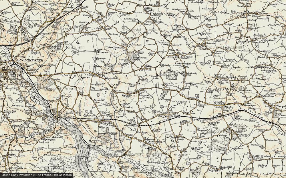 Balls Green, 1898-1899