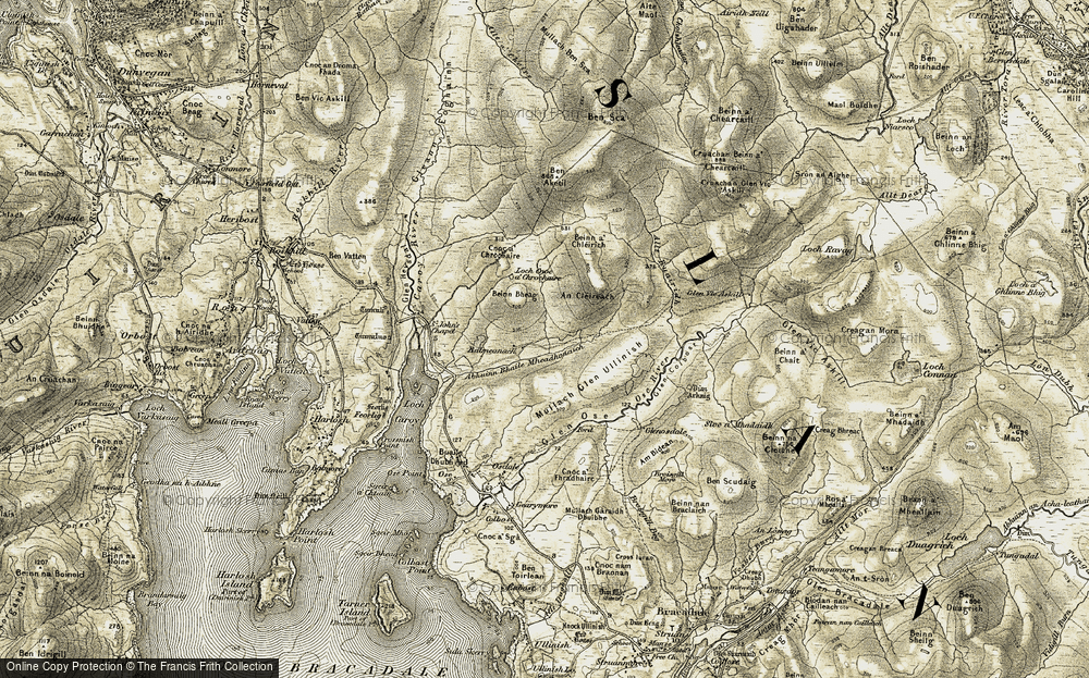 Balmeanach, 1908-1909