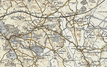 Old map of Balmer Heath in 1902