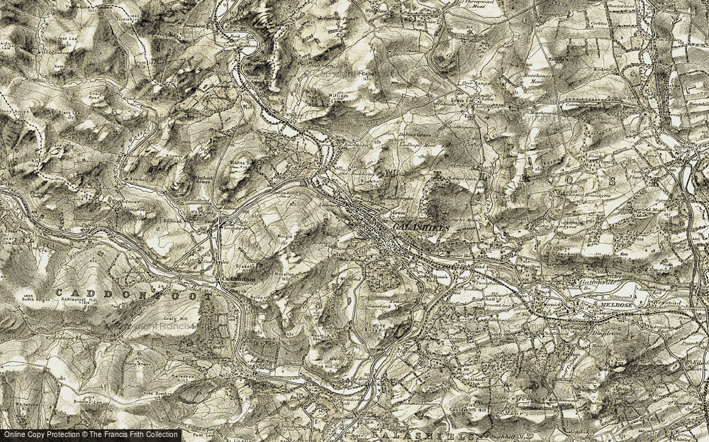 Old Map of Balmoral, 1903-1904 in 1903-1904
