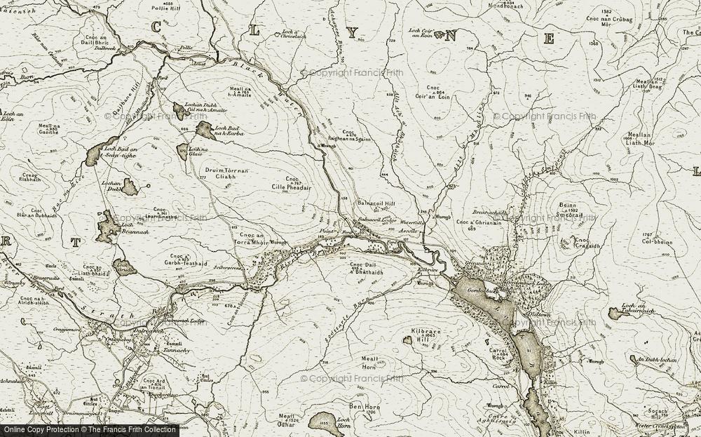 Balnacoil, 1910-1912