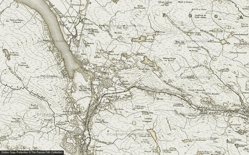 Balnadelson, 1910-1912