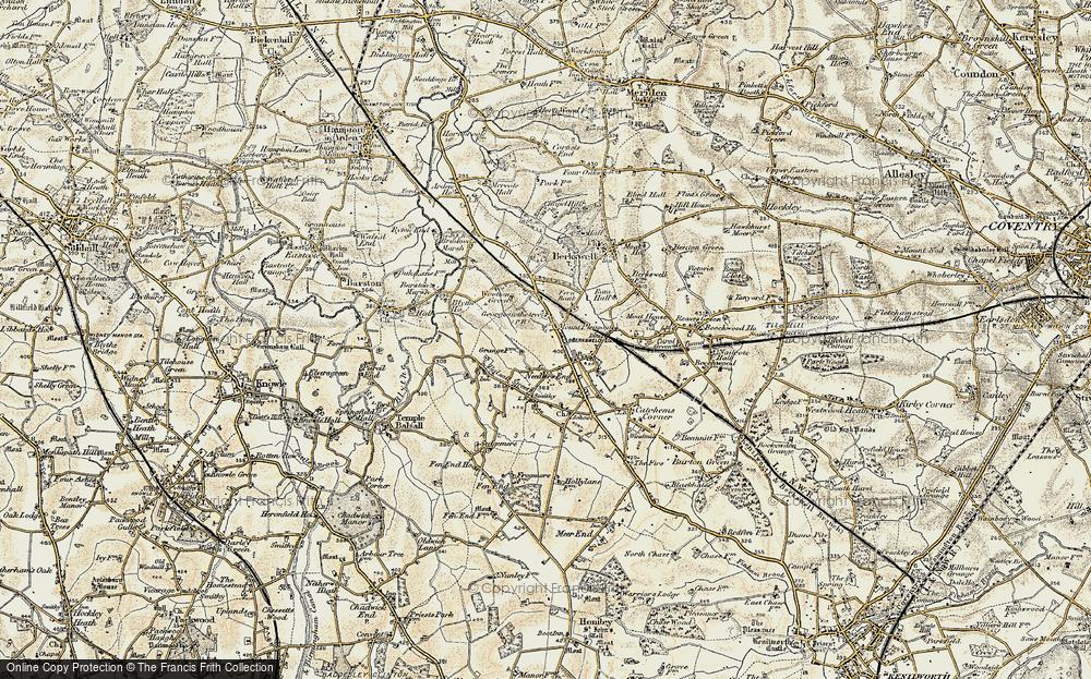 Balsall Common, 1901-1902