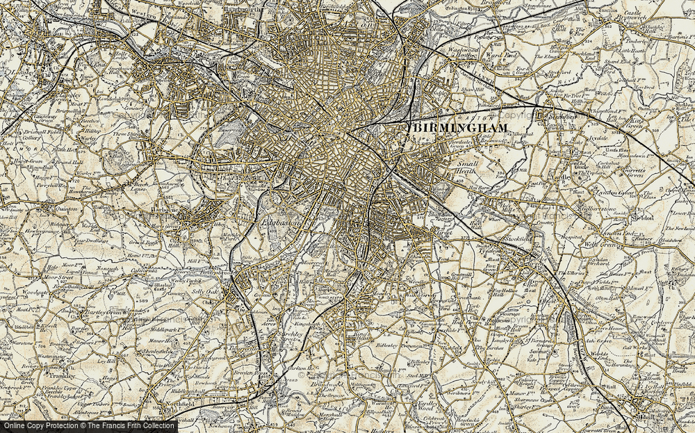Old Map of Balsall Heath, 1901-1902 in 1901-1902