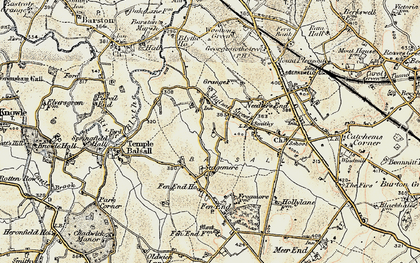 Old map of Balsall Street in 1901-1902