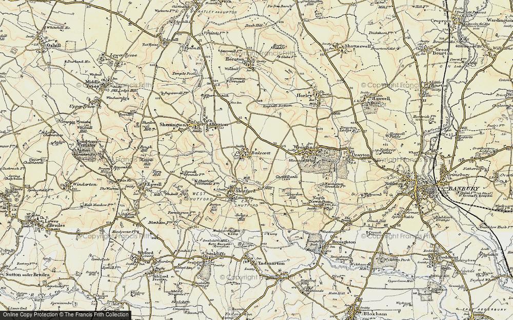 Balscote, 1898-1901