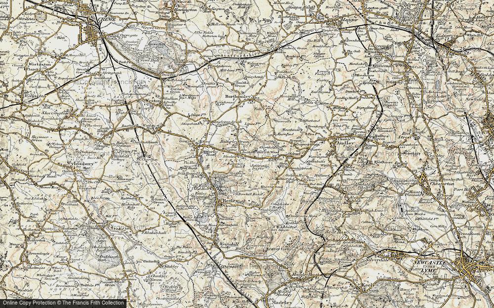 Balterley Green, 1902