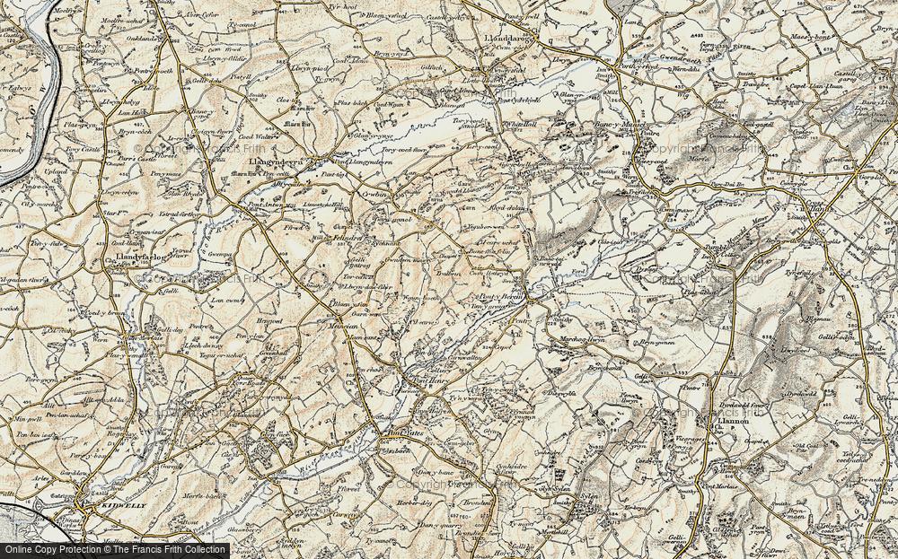 Bancffosfelen, 1901