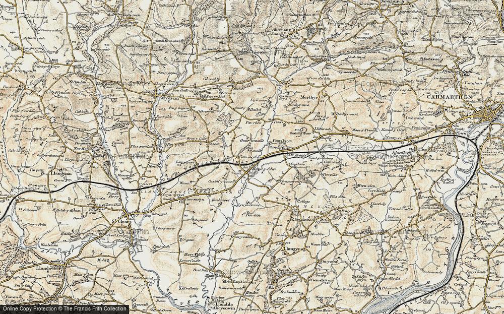 Bancyfelin, 1901