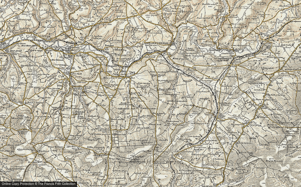 Bancyfford, 1901