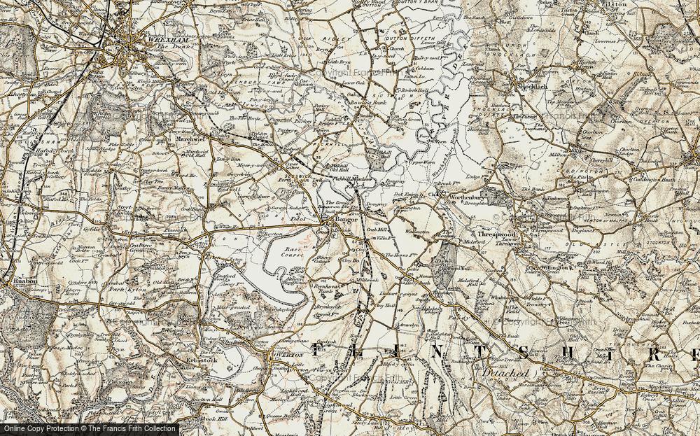 Bangor on Dee, 1902