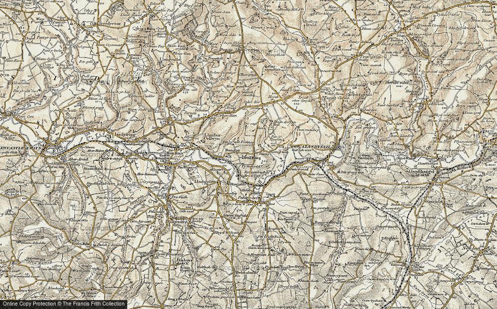 Bangor Teifi, 1901