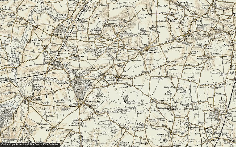 Banham, 1901