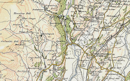 Old map of Ash House in 1903-1904