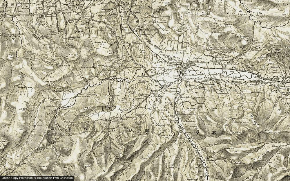 Bankglen, 1904-1905