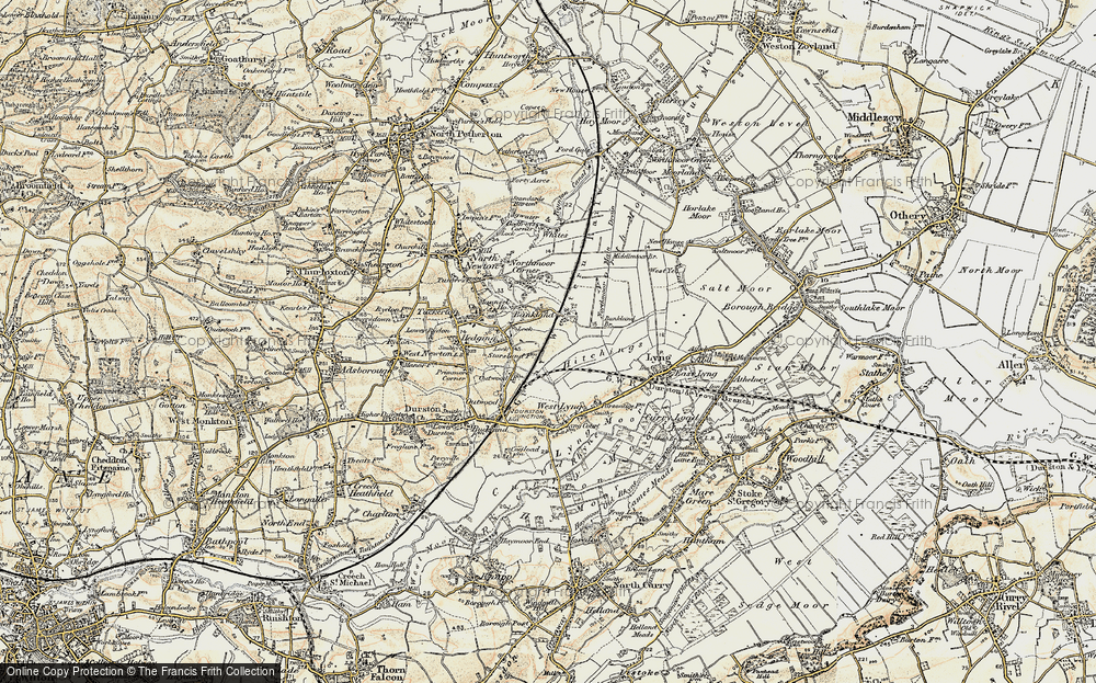 Old Map of Bankland, 1898-1900 in 1898-1900