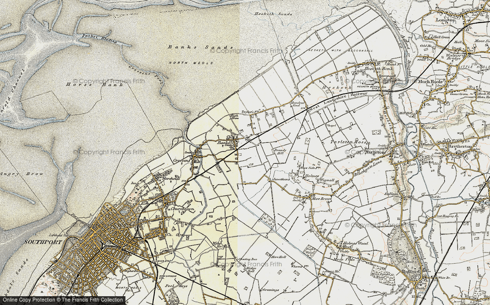 Old Map of Banks, 1902-1903 in 1902-1903