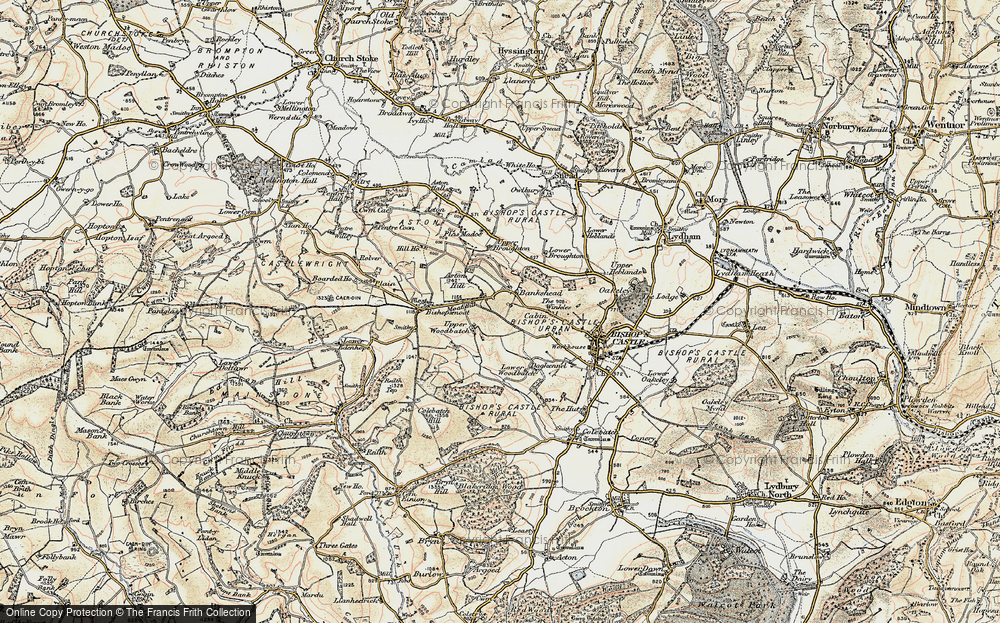 Old Map of Bankshead, 1902-1903 in 1902-1903