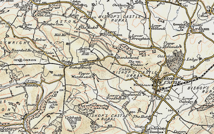 Old map of Bankshead in 1902-1903