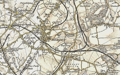 Old map of Bantam Grove in 1903